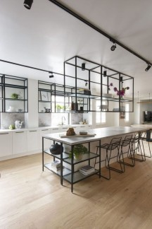 Best Monochrome Kitchen Theme Ideas For Decoration29