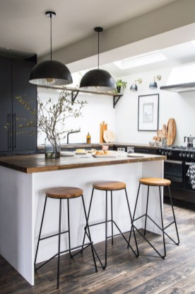 Best Monochrome Kitchen Theme Ideas For Decoration46