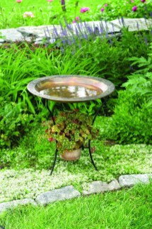 Bird Bath Design Ideas For Your Backyard Inspiration04