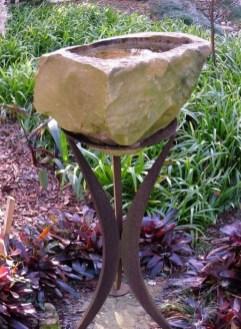 Bird Bath Design Ideas For Your Backyard Inspiration13