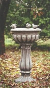 Bird Bath Design Ideas For Your Backyard Inspiration28
