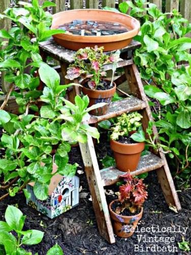 Bird Bath Design Ideas For Your Backyard Inspiration42