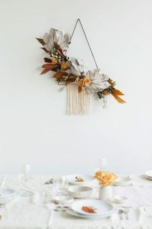 Cheap Diy Thanksgiving Decoration Ideas For Your Apartment20