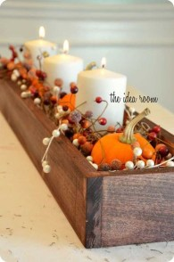 Cheap Diy Thanksgiving Decoration Ideas For Your Apartment37