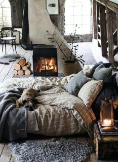 Comfortable Decorating Ideas For Winter14