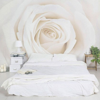 Fabulous Rose Wall Painting Design Ideas For You To Try In Home09