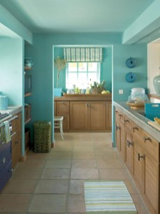 Impressive Gray And Turquoise Color Scheme Ideas For Your Kitchen31