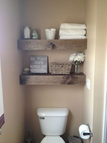 Interesting Floating Wall Shelves For Your Bathroom Style Ideas02