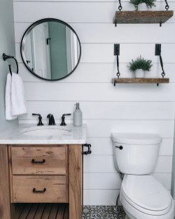 Interesting Floating Wall Shelves For Your Bathroom Style Ideas23