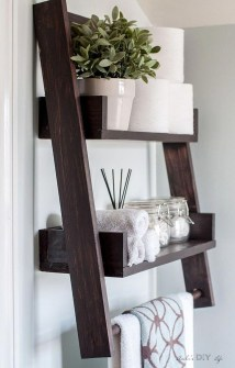 Interesting Floating Wall Shelves For Your Bathroom Style Ideas30