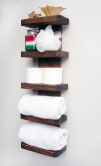 Interesting Floating Wall Shelves For Your Bathroom Style Ideas32