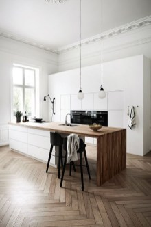 Modern Minimalist Kitchen Design Makes The House Look Elegant05
