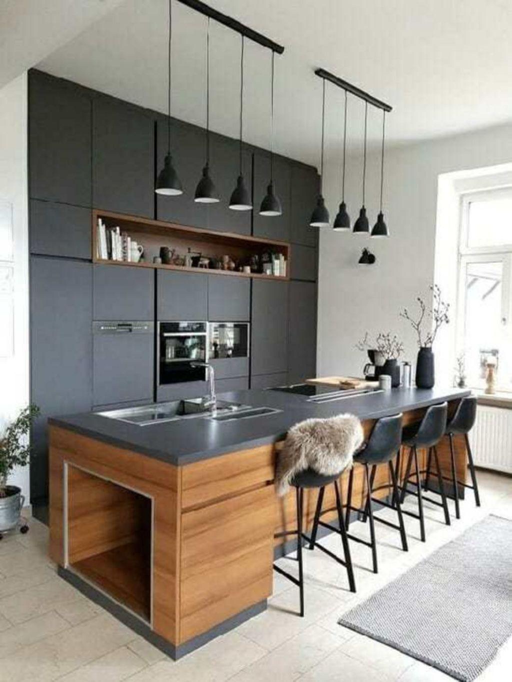 Modern Minimalist Kitchen Design Makes The House Look Elegant18