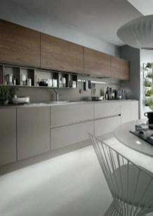 Modern Minimalist Kitchen Design Makes The House Look Elegant30