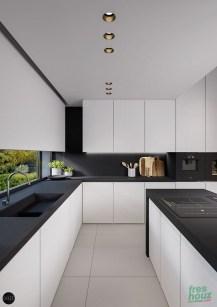 Modern Minimalist Kitchen Design Makes The House Look Elegant31