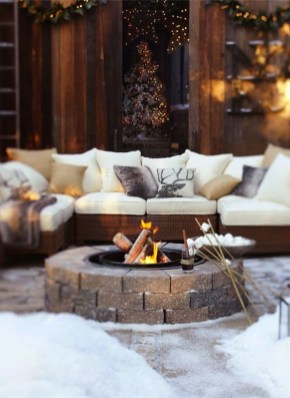 Perfect Fire Pit Design Ideas For Winter Season Decoration07