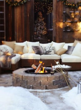 Perfect Fire Pit Design Ideas For Winter Season Decoration15