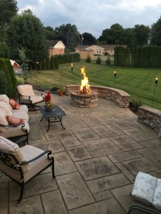 Perfect Fire Pit Design Ideas For Winter Season Decoration23