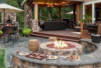 Perfect Fire Pit Design Ideas For Winter Season Decoration28