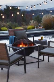 Perfect Fire Pit Design Ideas For Winter Season Decoration34