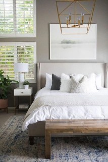 Simple Bedroom Decorating Ideas That Feel Spacious28