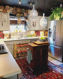 Wonderful Bohemian Kitchen Ideas To Inspire You03