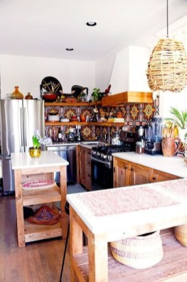 Wonderful Bohemian Kitchen Ideas To Inspire You15
