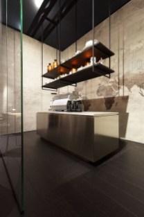 Wonderful Industrial Kitchen Shelf Design Ideas To Organize Your Kitchen02