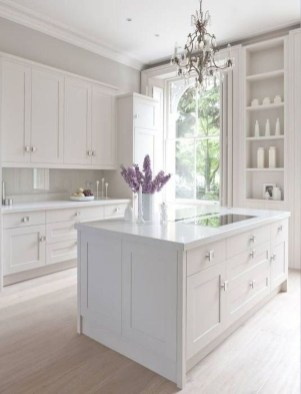 Adorable White Kitchen Design Ideas25