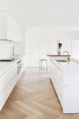 Adorable White Kitchen Design Ideas33