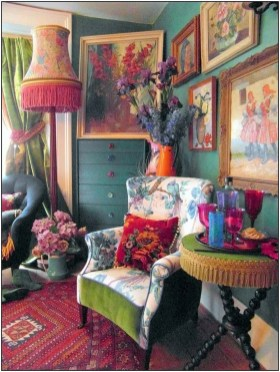 Charming Boho Living Room Decorating Ideas With Gypsy Style34