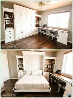 Enchanting Diy Murphy Bed Ideas For Bedroom06
