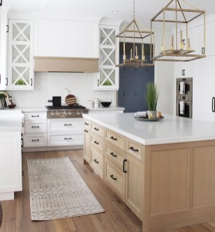 Enchanting Kitchen Design Ideas For Small Spaces09
