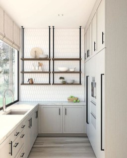 Enchanting Kitchen Design Ideas For Small Spaces31