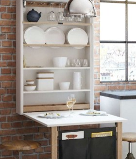 Enchanting Kitchen Design Ideas For Small Spaces33