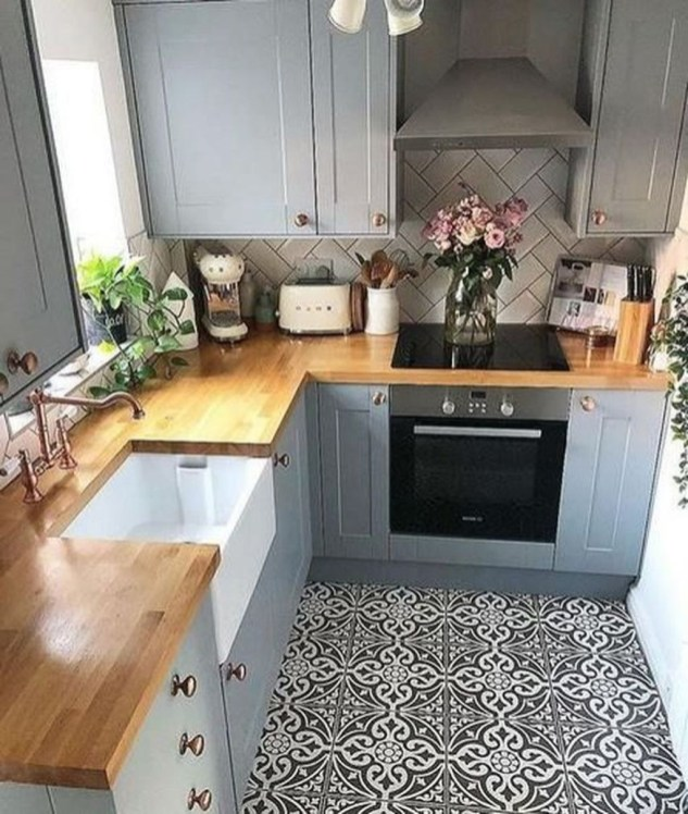 Enchanting Kitchen Design Ideas For Small Spaces42