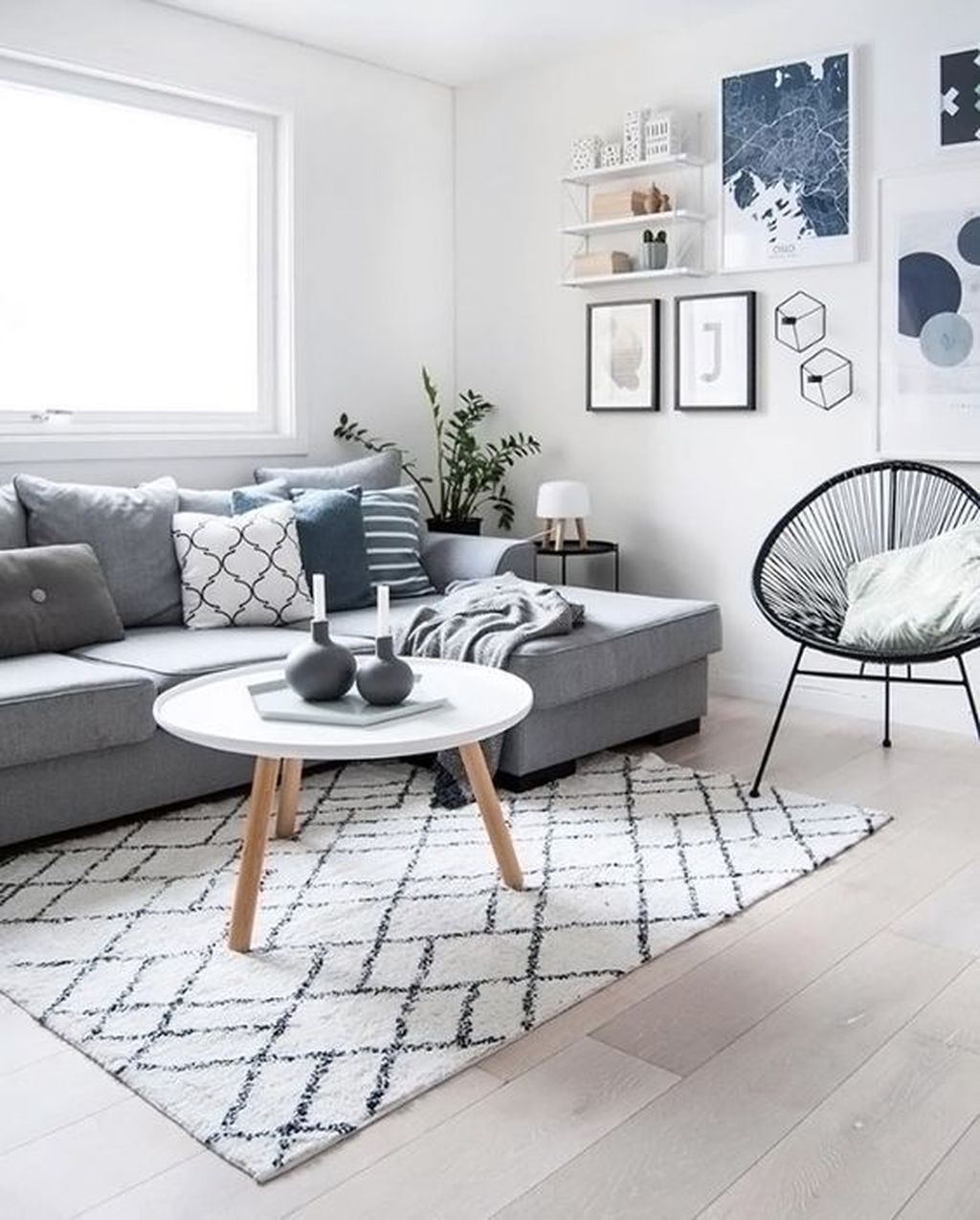 Gorgeous Scandinavian Interior Design Decor Ideas16