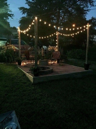 Impressive Backyard Lighting Ideas For Home37