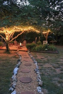 Impressive Backyard Lighting Ideas For Home41