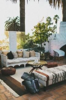 Inspiring Boho Outdoor Decorating Ideas For Backyard11