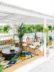 Inspiring Boho Outdoor Decorating Ideas For Backyard23