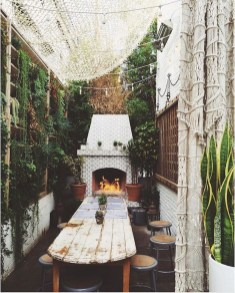 Inspiring Boho Outdoor Decorating Ideas For Backyard47