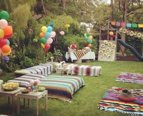 Outstanding Garden Party Decorating Ideas For Birthday14