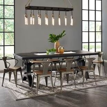 Pretty Farmhouse Table Design Ideas For Kitchen09