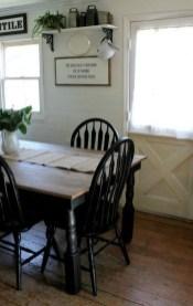 Pretty Farmhouse Table Design Ideas For Kitchen19