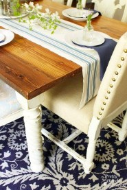 Pretty Farmhouse Table Design Ideas For Kitchen21