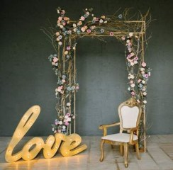 Unordinary Wedding Backdrop Decoration Ideas02
