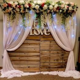 Unordinary Wedding Backdrop Decoration Ideas16