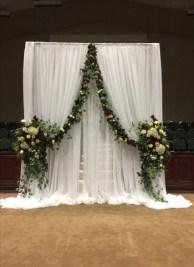 Unordinary Wedding Backdrop Decoration Ideas29
