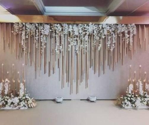 Unordinary Wedding Backdrop Decoration Ideas35